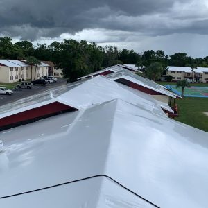 roof wrapping